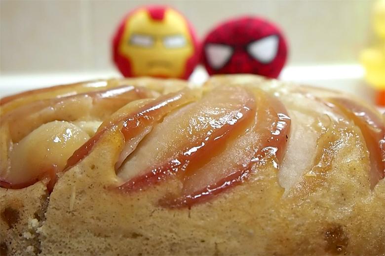リンゴケーキ完成!