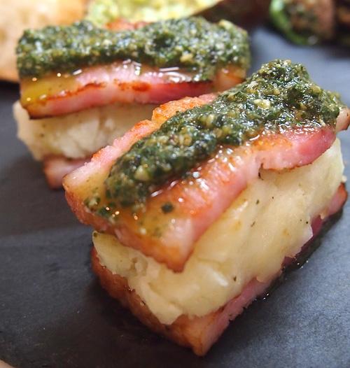 マッシュポテトのベーコン寿司