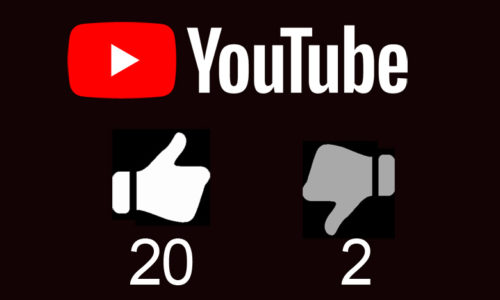 Youtube低評価を気にする方へ