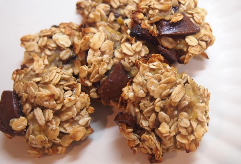 オートミールチョコクッキー