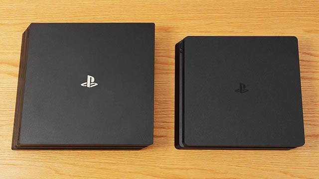 PS4 Proとの比較画像